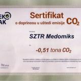 Sekopak sertifikat